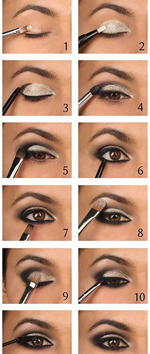 Assez How To Do Smokey Eye Makeup? - Top 10 Tutorial Pictures For 2017 RQ95