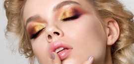 Simple-Gold-Eye-Makeup-Tutorial