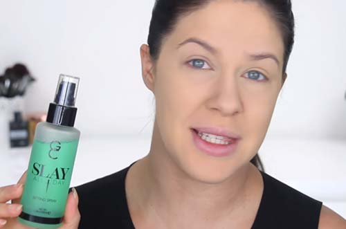 Makeup For Oily Skin - Spritz On Some Setting Spray