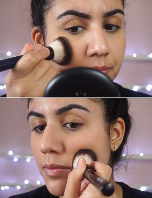 How to apply foundation and powder flawlessly