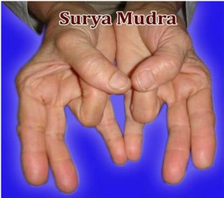 surya mudra benefits
