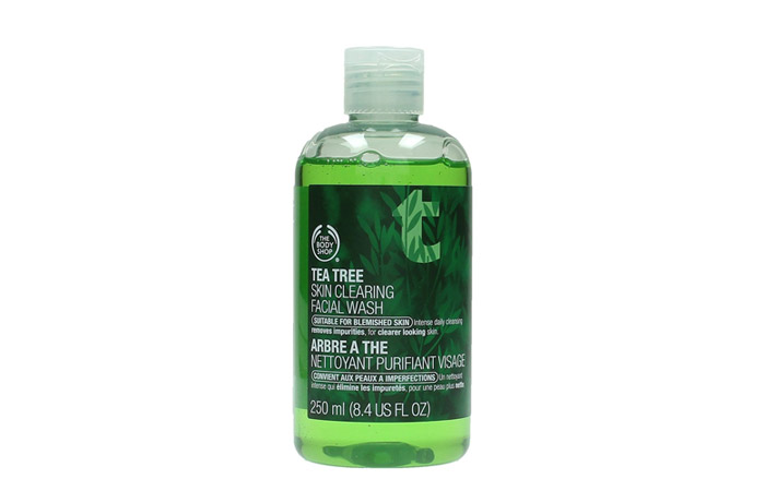 The Body Shop Tea Tree Facial Wash - Acne Control Products