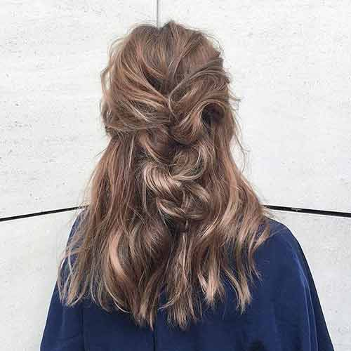 The Messy Half Braid