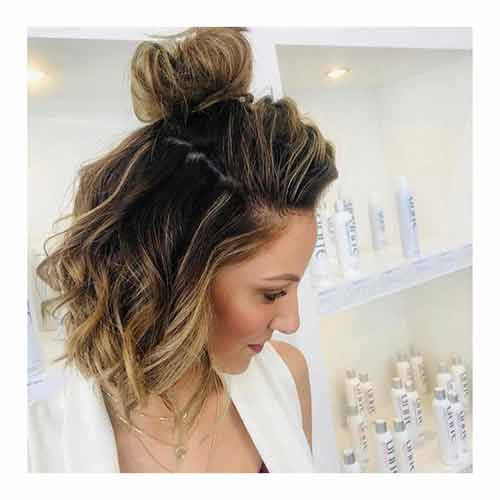 The Messy Top Knot