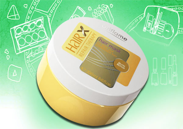 oriflame hairx repair therapy hair mask