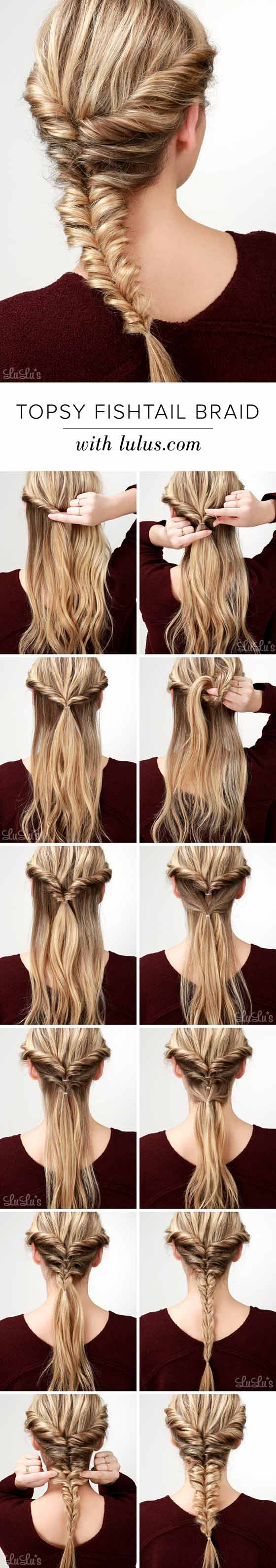 Topsy-Fishtail-Braid