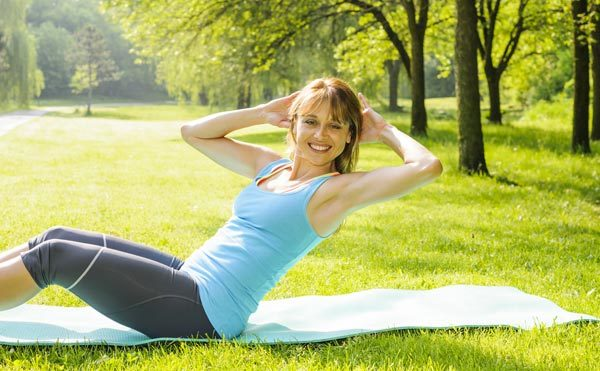 Twist Crunches - Exercises To Lose Belly Fat