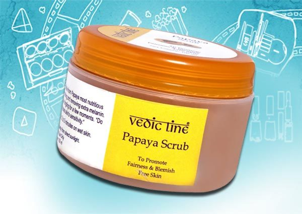 Best Skin Exfoliants - Vedic Line Scrub
