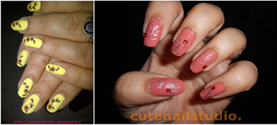 water slide nail stickers or water decals 1