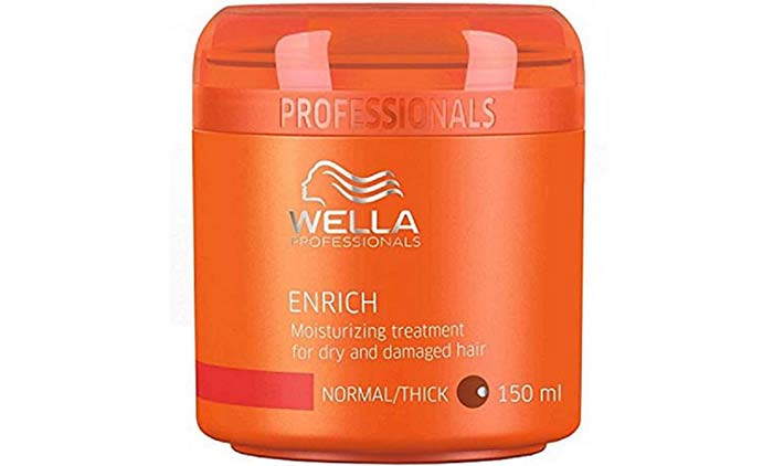 Wella Professionals Enrich Moisturizing Treatment For Dry And Damaged Hair