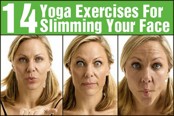 Face Exercise Younger Looking Simple Yoga And