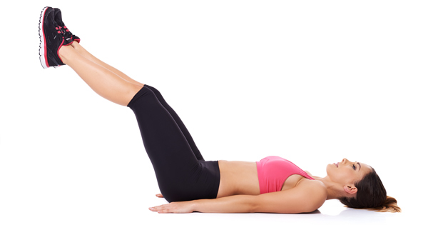 exercise for flat belly at home