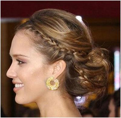 braids jessica alba