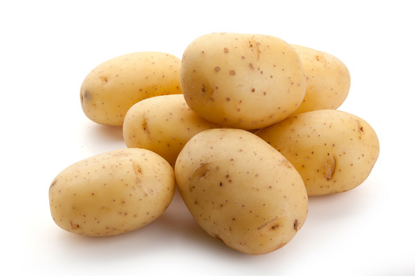 dark spots potato