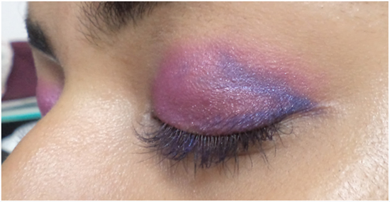 deepen purple color makeup