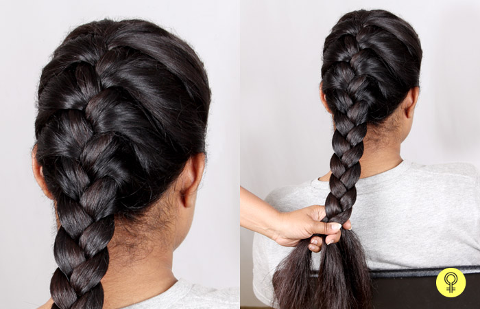 French Braid Tutorial Picture Guide