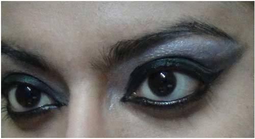 Final Look - Black Eye Makeup