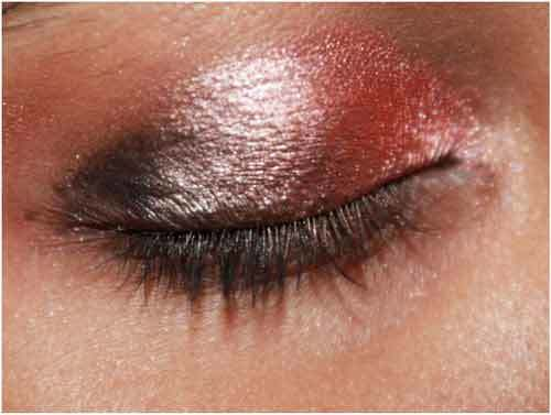 red eye makeup ideas