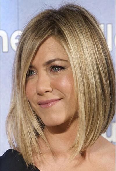 Jennifer Aniston Long Bob Haircut