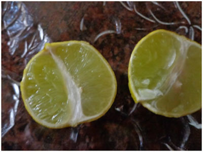 lemon juice for skin