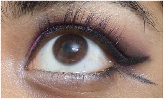 lower lash line eye makeup