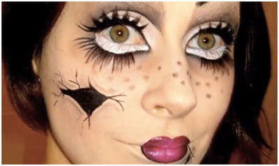Doll Face Makeup Tutorial: Step by Step Picture Guide