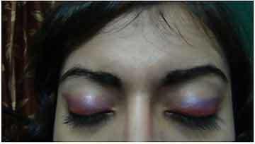 eye makeup bharatanatyam dancer
