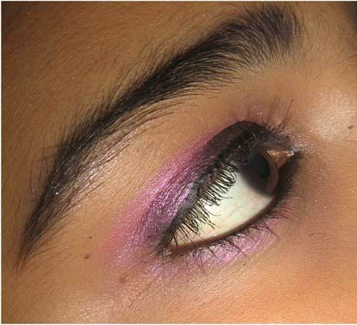 Pink Eye Makeup Tutorial \u2013 Step by Step Process with Pictures