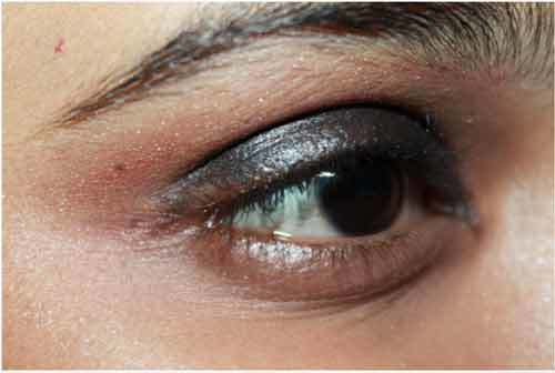 bengali bridal eye makeup
