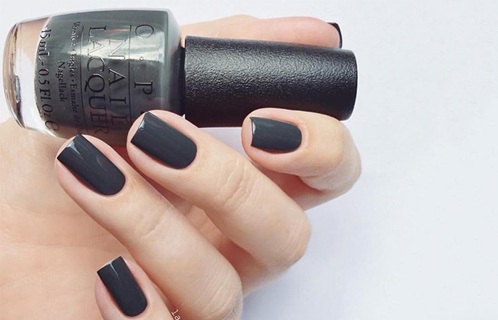 Liv In The Gray Nail Polish Swatch Pinit