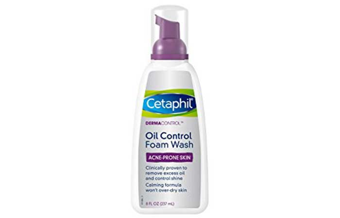 1. Cetaphil Dermacontrol Foam Wash