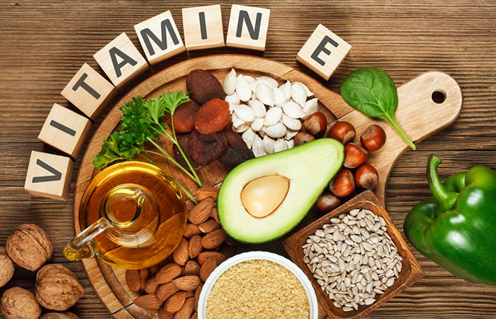 1. Eat Foods Rich In Vitamin E
