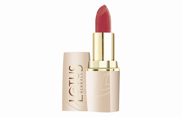 Best Lipstick Brands In India - 15. Lotus Herbals