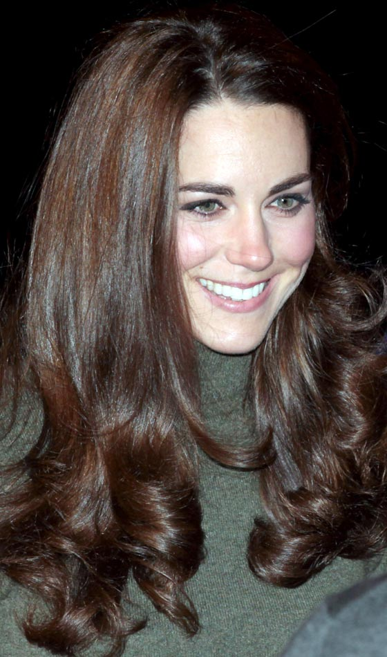 Kate Middleton's Classy Long Layered Hairstyle