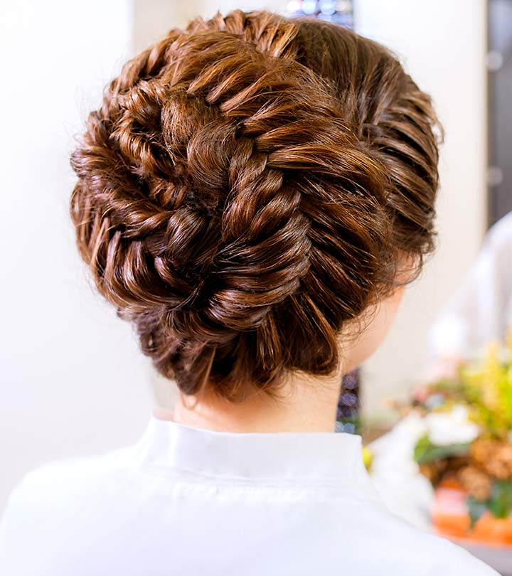10 wedding updos that you can try too 10 wedding updos that you can try too zinnia stylecraze junglespirit Images