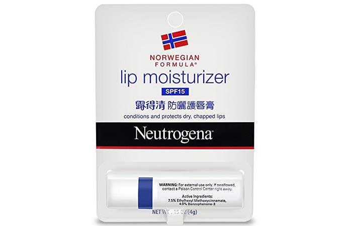 10. Neutrogena Lip Moisturizer