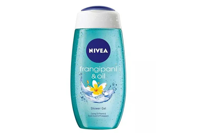 11. Nivea Frangipani & Oil Shower Gel