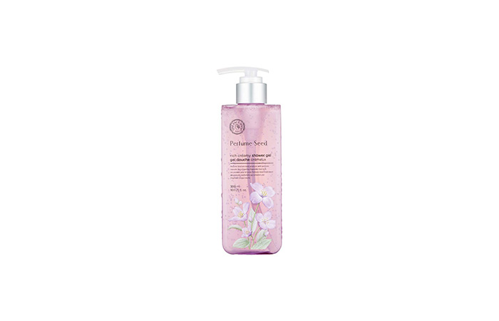 12. The Face Shop Perfume Seed Rich Cream Shower Gel