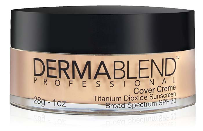 Best High Coverage Foundations - 12. Dermablend Cover Creme SPF 30
