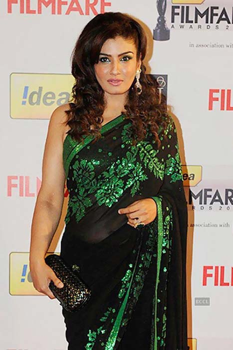 Raveena-Tandon-Saree