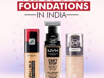 15 Best Full-Coverage Foundations In India That You Should Try In 2021
