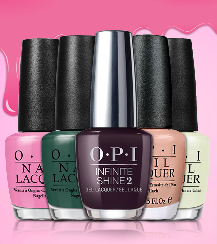 15 Best OPI Nail Polish Shades And Swatches For Women Of 2018