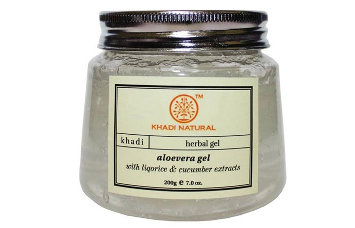 Moisturizers For Oily Skin - Khadi Aloevera Gel With Liqorice And Cucumber Extracts
