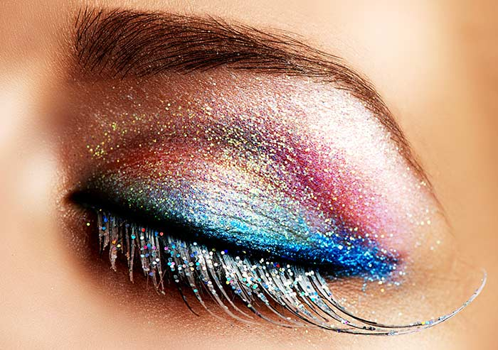 Glitter Eye Makeup Look