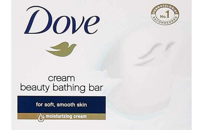2. Dove Cream Beauty Bathing Bar