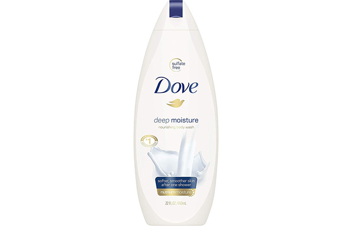 2. Dove Deep Moisture Nourishing Body Wash