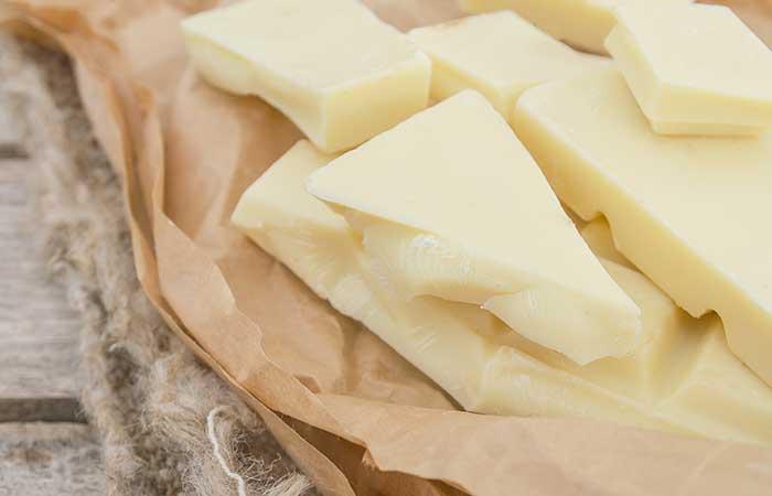 2. Cocoa Butter For Peeling Skin