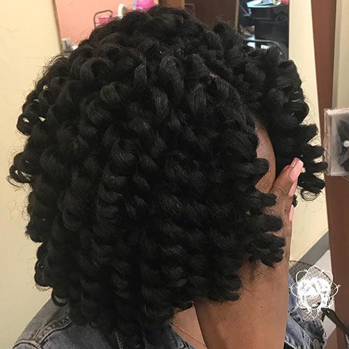 2. Crochet Curls