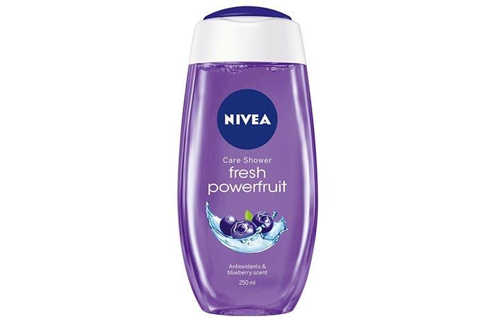 2. Nivea Fresh Powerfruit Shower Gel