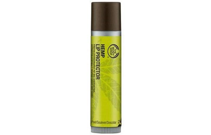 2. The Body Shop Hemp Lip Protector